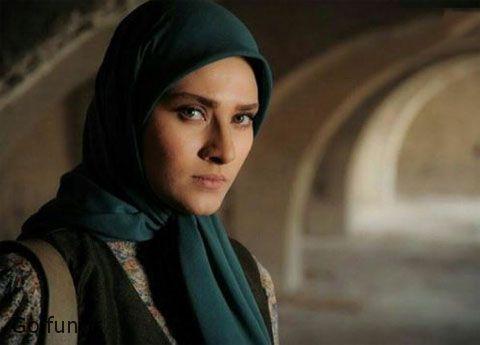 ساناز سعیدی در نمایی از سریال نفس رمضان 96