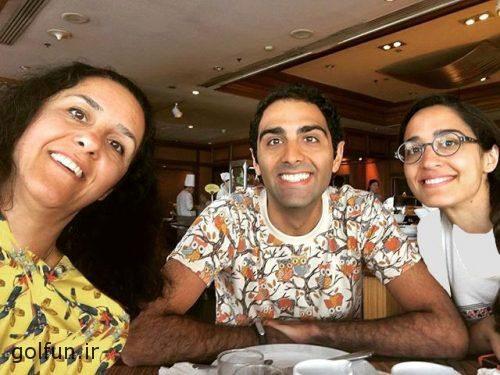 بهزاد خداویسی و همسرش سولماز اعتماد در کنار سید محمد خاتمی + بیوگرافی