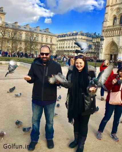عکس های ماه عسل نرگس محمدی و همسرش علی اوجی در ایتالیا + بیوگرافی