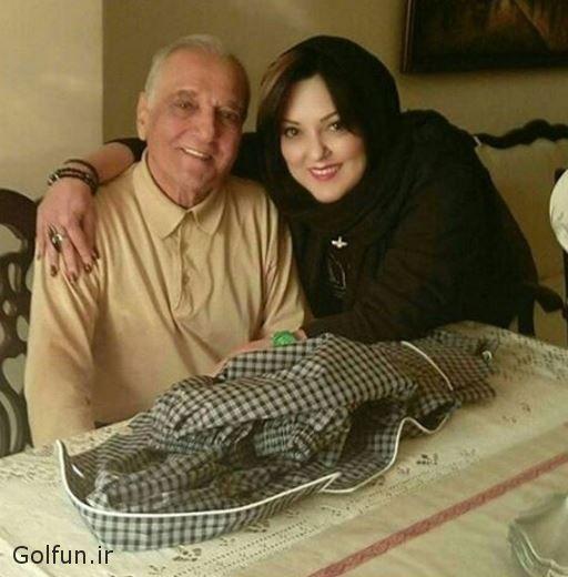 عکس پرستو گلستانی با پدرش + پرستو گلستانی قبل عمل زیبایی و بعد از عمل زیبایی