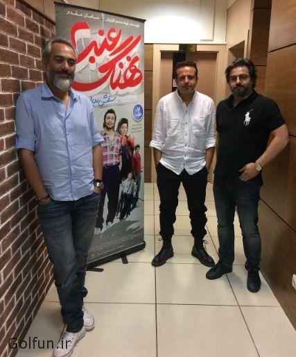 عکس های اکران مردمی فیلم نهنگ عنبر دو با حضور سامان مقدم و علی قربان زاده