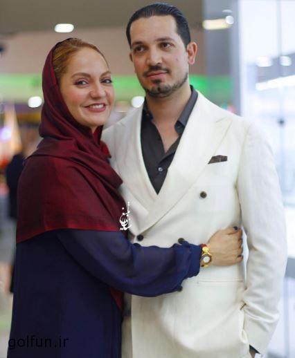 عکس های مهناز افشار و همسرش محمد یاسین رامین بعد از آزادی از زندان