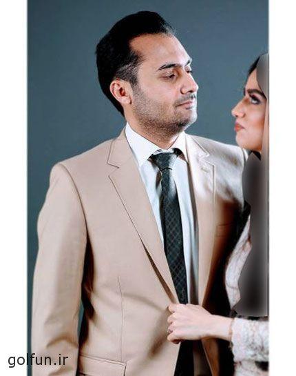 پست عاشقانه هانیه غلامی بازیگر تازه عروس برای تولد همسرش + عکس