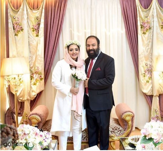 ازدواج نرگس محمدی و علی اوجی + عکس مراسم ازدواج علی اوجی و نرگس محمدی