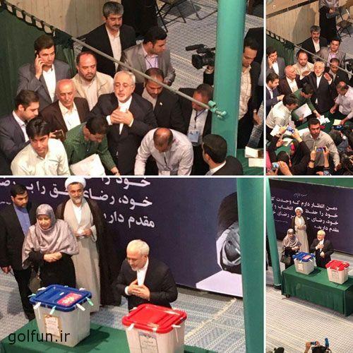 عکس های انتخابات ریاست جمهوری ۹۶