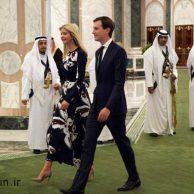 رقص شمشیر دونالد ترامپ + نگاه خیره سعودی ها به دختر و داماد ترامپ