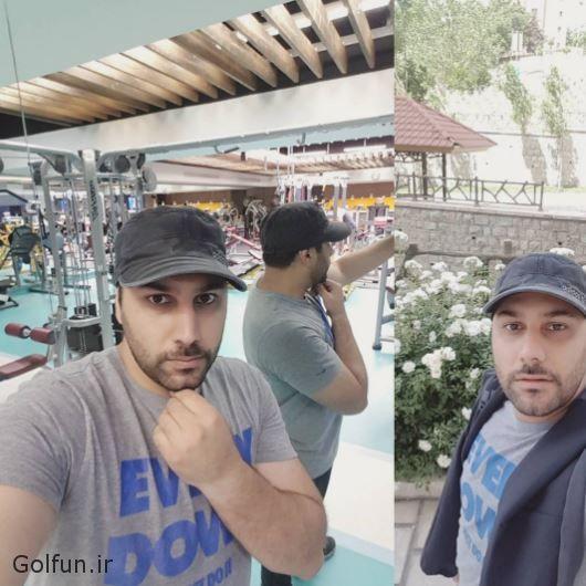 احسان خواجه امیری در دورهمی + عکس احسان خواجه امیری و همسرش لیلا ربانی