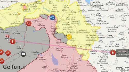 golfun.ir 139 - فیلم حمله موشکی سپاه پاسداران به داعش در پی حادثه تروریستی تهران
