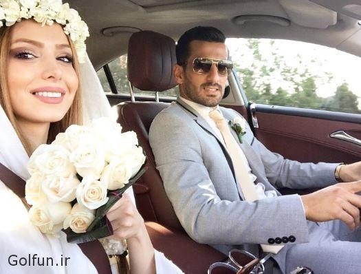 مراسم ازدواج احسان حاج صفی و همسرش + بیوگرافی احسان حاج صفی و همسرش