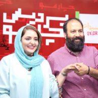 عکسهای علی اوجی و همسرش نرگس محمدی در اکران فیلم اکسیدان
