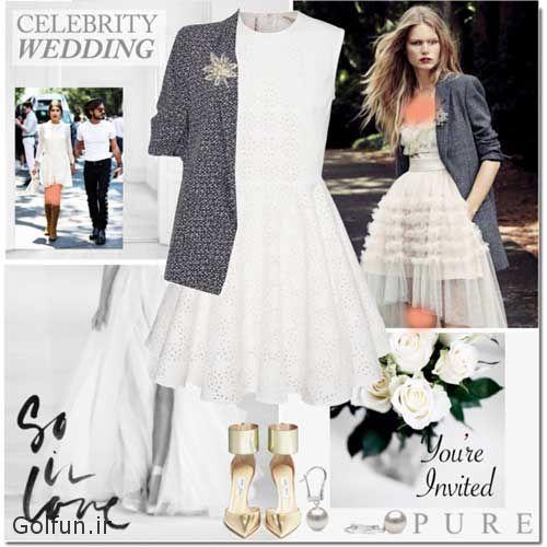 جدیدترین ست های لباس عروس ۹۷ و مدل لباس عروس ۲۰۱۸ شیک
