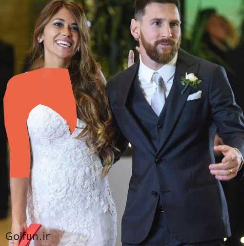 عکسهای مراسم ازدواج مسی و همسرش آنتونلا + کارت عروسی لیونل مسی