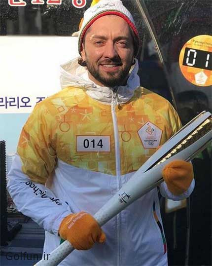 بهرام رادان مشعل دار المپیک ۲۰۱۸