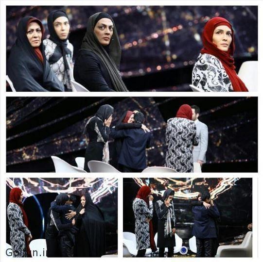 فیلم لحظه آشتی خواهران منصوریان با پدرشان در ماه عسل بعد از ۱۵ سال