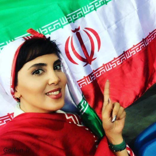 عکس لیلا بلوکات در لیگ جهانی والیبال 2017 + بیوگرافی لیلا بلوکات بازیگر زن ایرانی