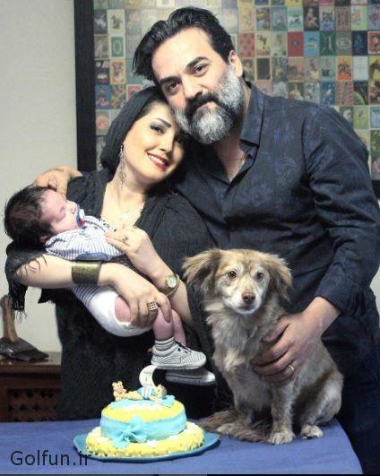 یغما گلرویی و همسرش آتنا حبیبی + بیوگرافی یغما گلرویی و عکس همسر اولش