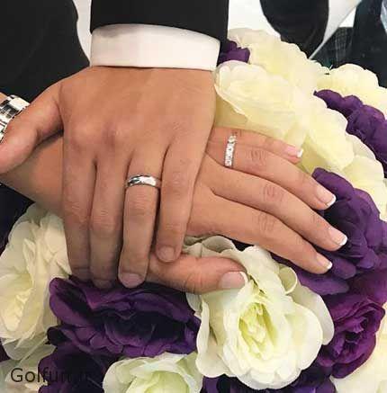 golfun.ir 106 - ازدواج نیوشا افشار و همسر او + عروسی نیوشا افشار بازیگران و شطرنج باز