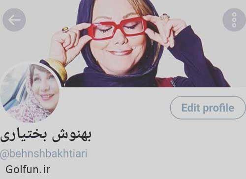 بهنوش بختیاری به توییتر پیوست + بیوگرافی بهنوش بختیاری و همسرش محمدرضا آرین