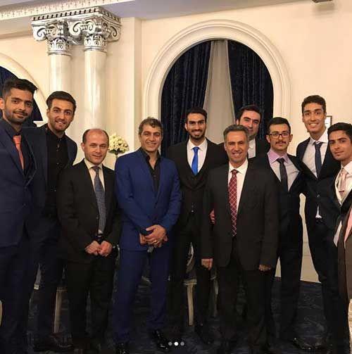 عکسهای مراسم عروسی بهنام اسبقی و همسرش + بیوگرافی بهنام اسبقی و همسرش