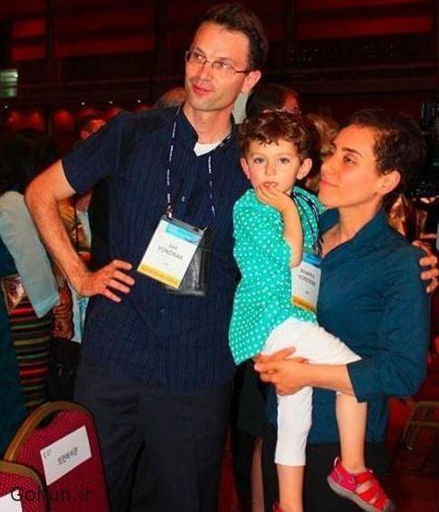 مریم میرزاخانی و همسرش یان وندراک به همراه دخترشان آناهیتا + بیوگرافی مریم میرزاخانی و همسرش