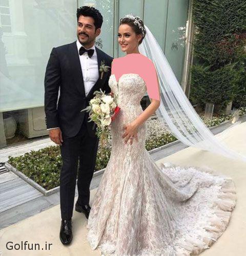 golfun.ir 4 - تصاویر مراسم ازدواج و فیلم عروسی بوراک اوزچویت و همسرش فخریه اوجن