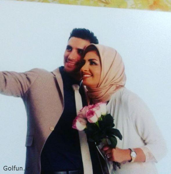مراسم عروسی بهنام اسبقی و همسرش