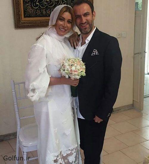 عکس های مراسم ازدواج فریبا نادری و همسر دومش + بیوگرافی فریبا نادری و همسرش