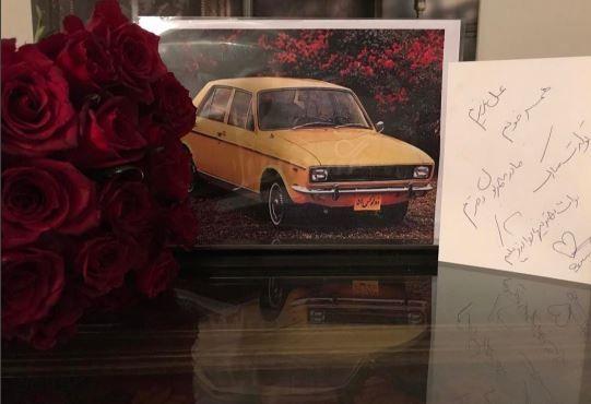 هدیه لاکچری سام درخشانی به همسرش عسل امیرپور برای تولد و مادر شدنش