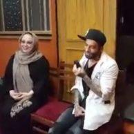 فیلم آشتی امیر تتلو و بهنوش بختیاری + ماجرای دعوای تتلو و بهنوش بختیاری