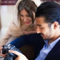 فیلم پیانو نوازی رضا قوچان و همسرش سروین بیات در شب عروسی شان