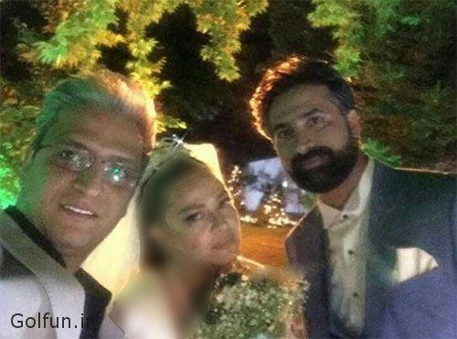 عکس های مراسم عروسی و ازدواج مجدد بهاره رهنما با همسر دومش امیرخسرو عباسی