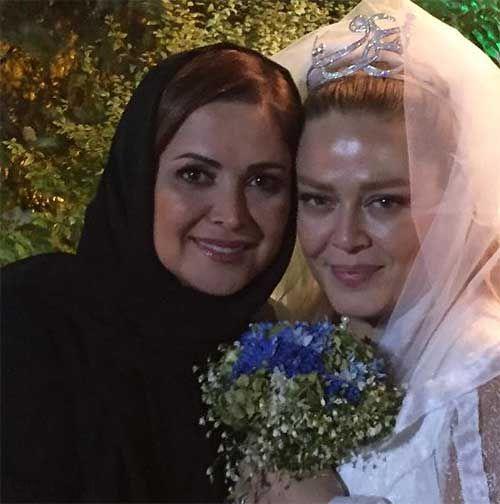 بازیگران در جشن عروسی بهاره رهنما و همسرش امیرخسرو عباسی + تصاویر