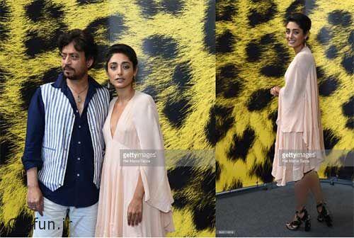 گلشیفته فراهانی و عرفان خان در جشنواره فیلم لوکارنو سوئیس