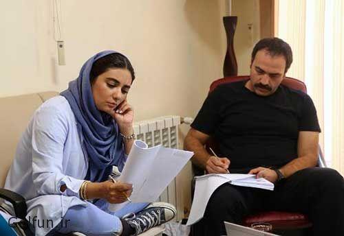 عکس های جدید از بازیگران و داستان سریال پاهای بیقرار منوچهر هادی