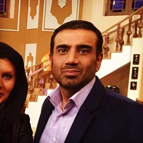 نصرالله رادش در برنامه دورهمی + عکس همسران نصرالله رادش بازیگر مرد ایرانی