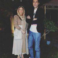 بیوگرافی امیرمهدی ژوله و همسرش+جشن تولد امیرمهدی ژوله کنار همسر و دخترش گندم