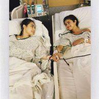 تصاویر عمل پیوند کلیه سلنا گومز بازیگر و خواننده مشهور آمریکایی + فیلم عمل پیوند کلیه