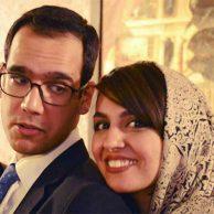 عکس جدید بهزاد قدیانلو و همسرش کیمیا عطار کمدین برنامه خندوانه