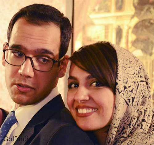 عکس بهزاد قدیانلو و همسرش کیمیا عطار