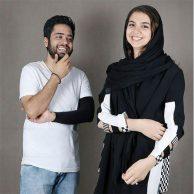 ازدواج سارا خادم الشریعه و همسرش اردشیر احمدی + تصاویر و بیوگرافی
