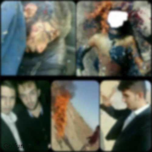 فیلم قتل و سوزاندن جسد صادق برمکی توسط دوستان