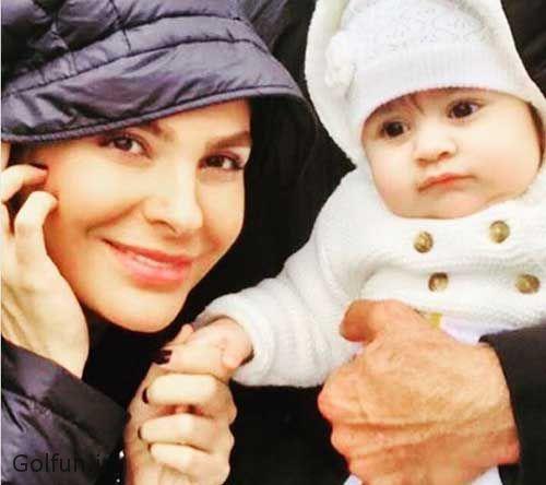 بیوگرافی بیتا اصلانی همسر دوم هومن سیدی با عکس دخترشان