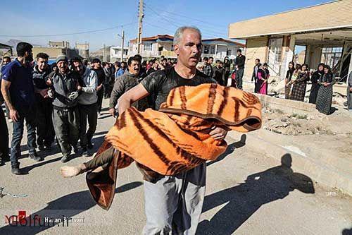 تصاویر تلخ از زلزله سرپل ذهاب کرمانشاه + جزییات کشته شدگان زلزله کرمانشاه