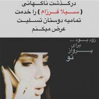 ماجرای خودکشی و درگذشت سیلا فرزام با فیلم خودکشی سیلا فرزام