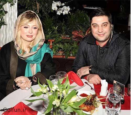 نیوشا ضیغمی در دورهمی + بیوگرافی نیوشا ضیغمی و همسرش آرش پولادخان