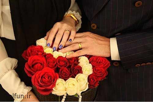 عکس مراسم ازدواج محسن افشانی و همسرش