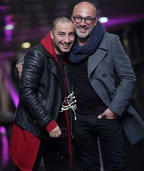 امیر آقایی و نوید محمدزاده در اکران عمومی فیلم بدون تاریخ بدون امضا