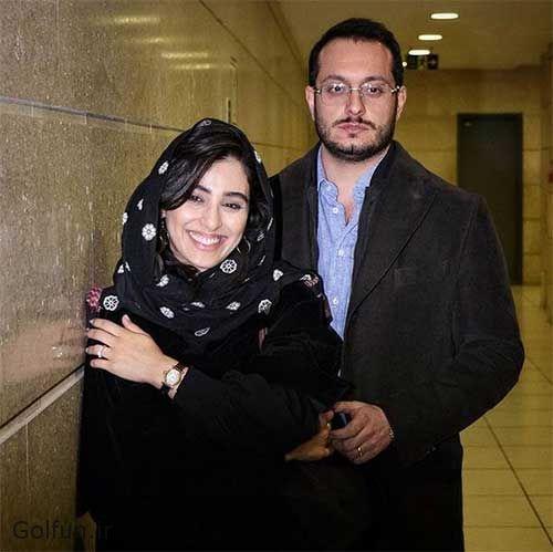 ازدواج آناهیتا افشار و همسرش