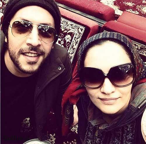 عکس و بیوگرافی میترا حجار و همسرس سینا حجازی خواننده