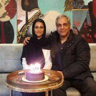 احساساتی شدن مهران مدیری در جشن تولد شهرزاد مدیری + تصاویر